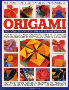 Book Cover to The Practical Illustrated Encyclopedia of Origami: The Complete Guide to the Art of Papermaking