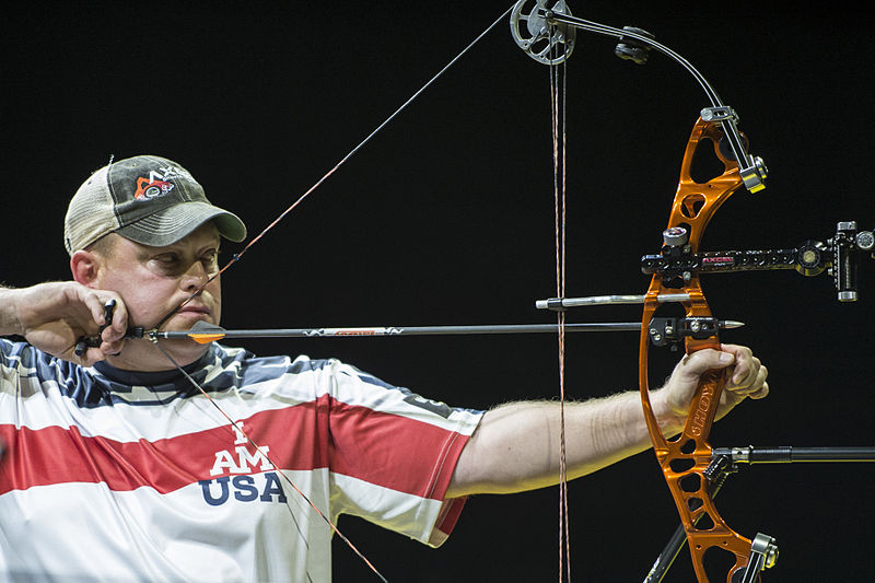 Compound Bow used at Invictus Games