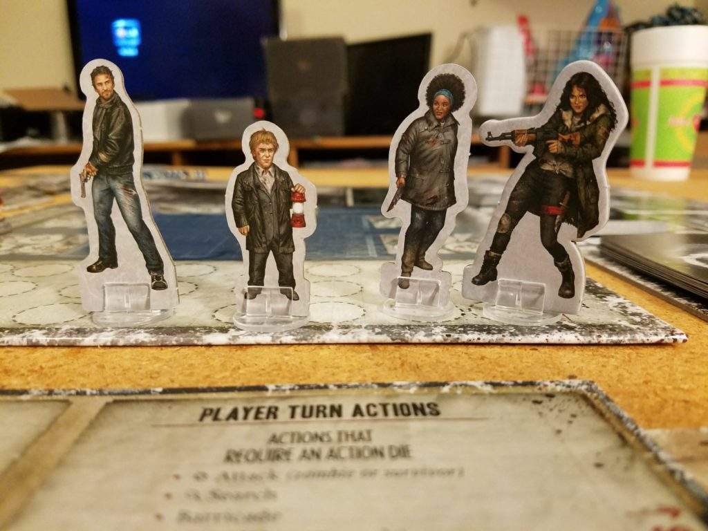 Dead of Winter The Long Night Character Pieces