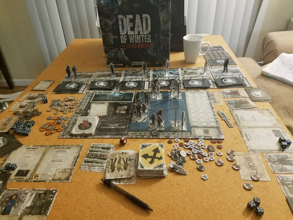 Dead of Winter The Long Night Game Contents