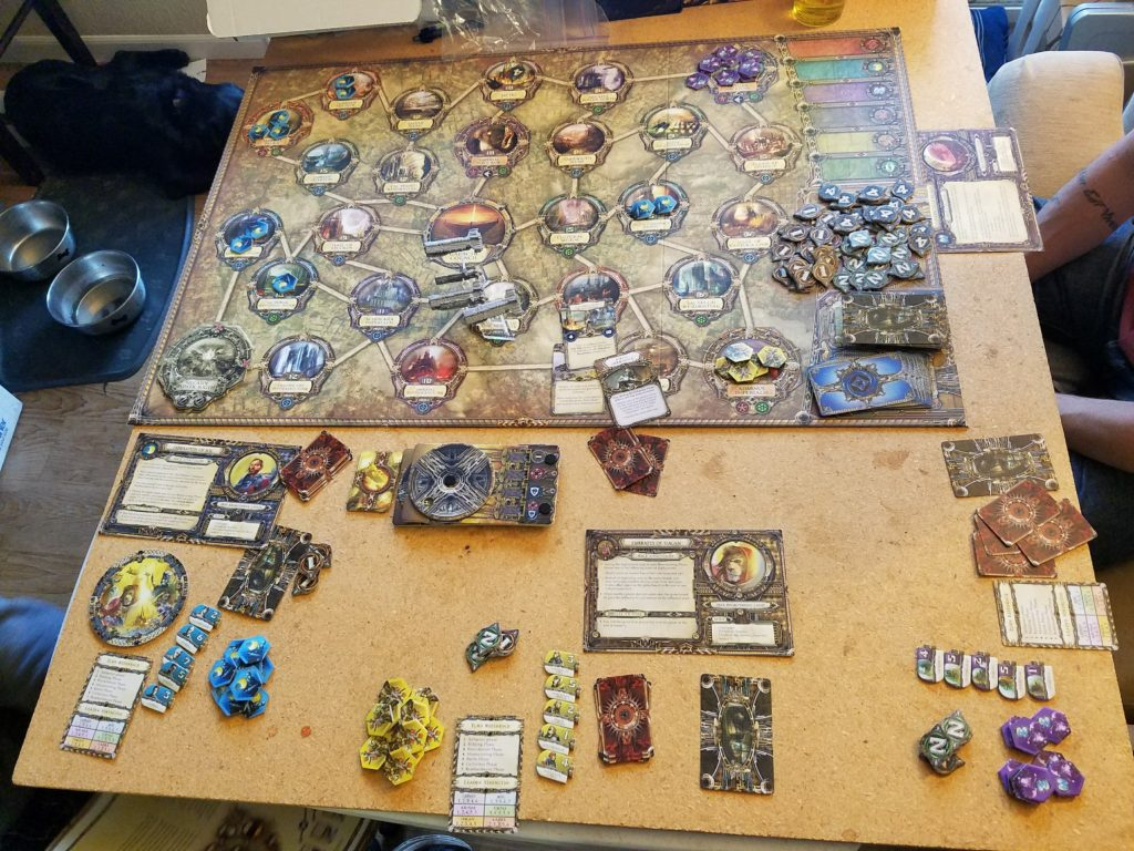 Rex Final Days of an Empire Gameboard