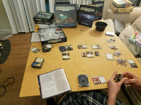 Arkham Horror Card Game Gameplay