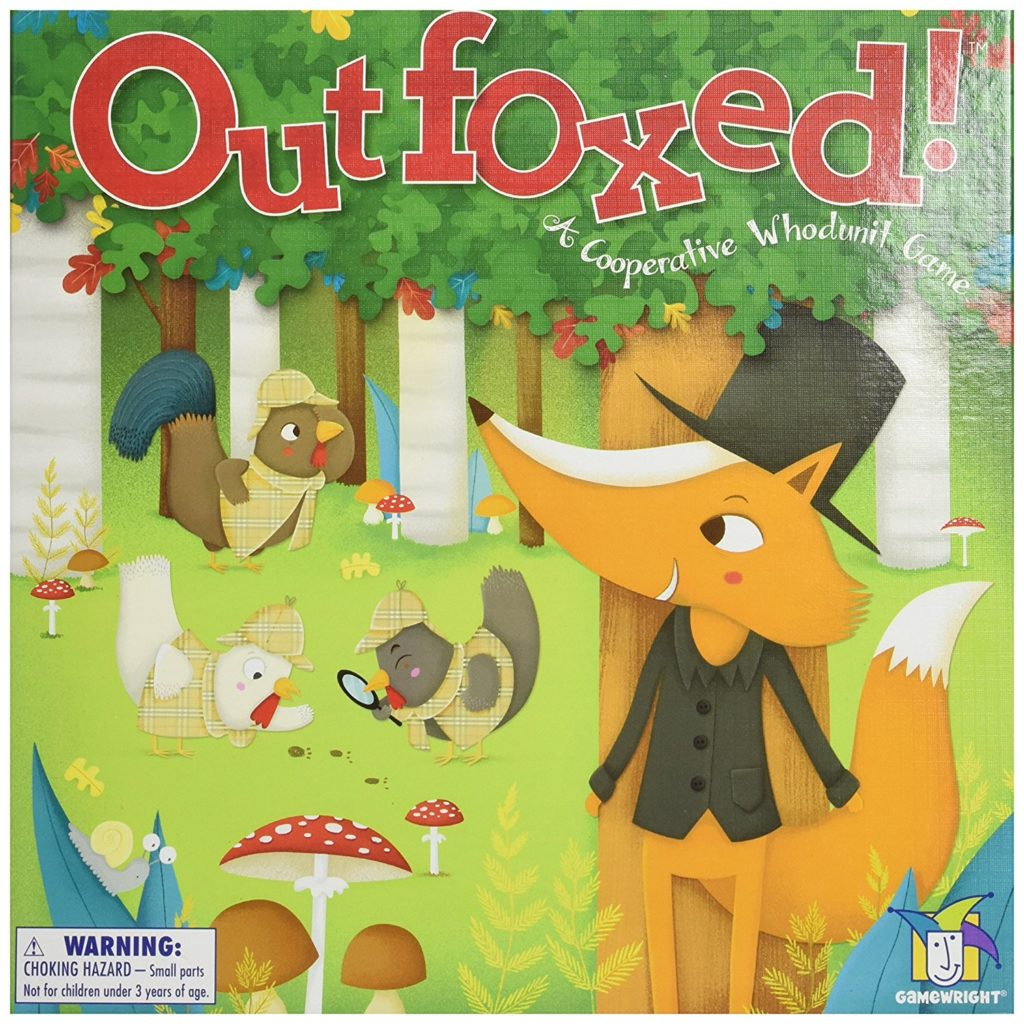 Outfoxed Front of Box