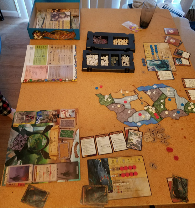 Spirit Island Board Game Contents