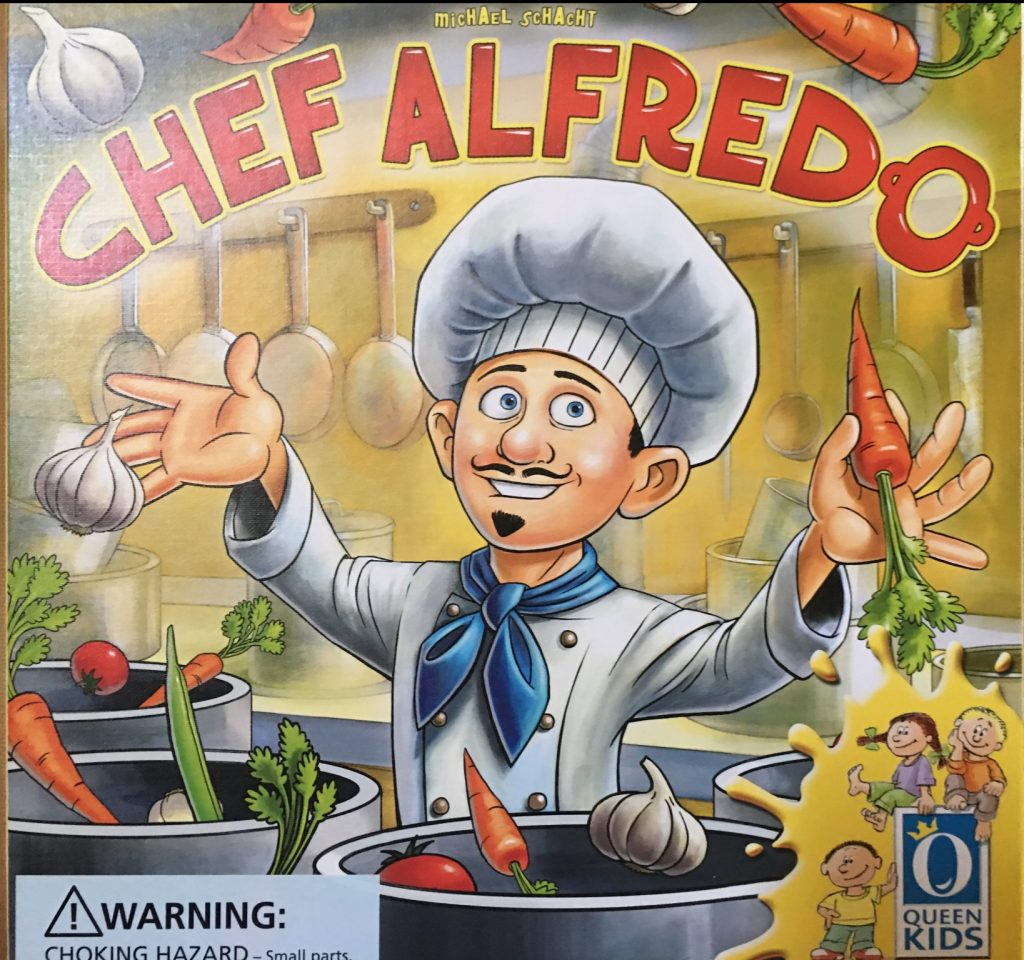 Picture of Chef Alfredo Game Box