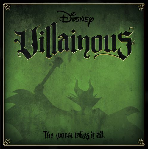 Villainous Board Game Box Front