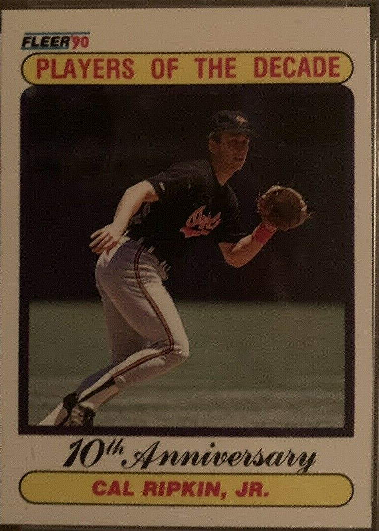 Cal Ripkin 1990 Fleer Error Card