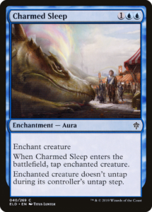 Picture of Charmed Sleep Magic Card