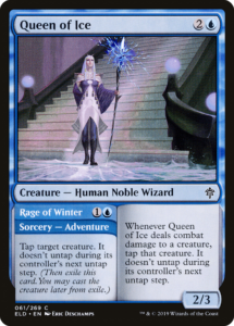 Picture of Queen of Ice Magic Card