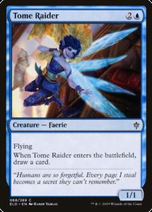 Picture of Tome Raider Magic Card